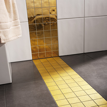 24 K Gold Tile