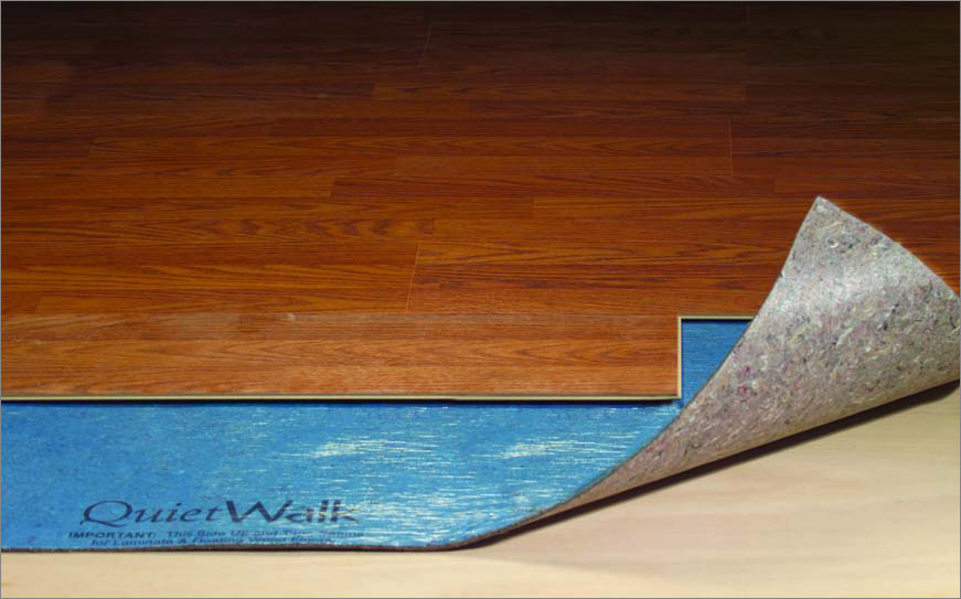 Quite walk underlayment for Floor underlayment